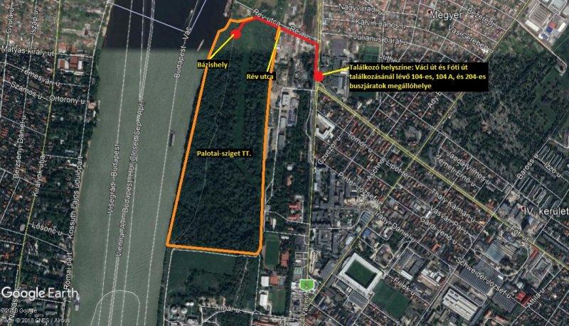A terület. (Forrás: Google Maps)