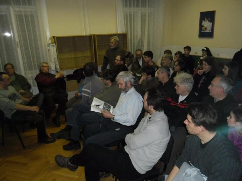 Bagyura János előadása Szegeden