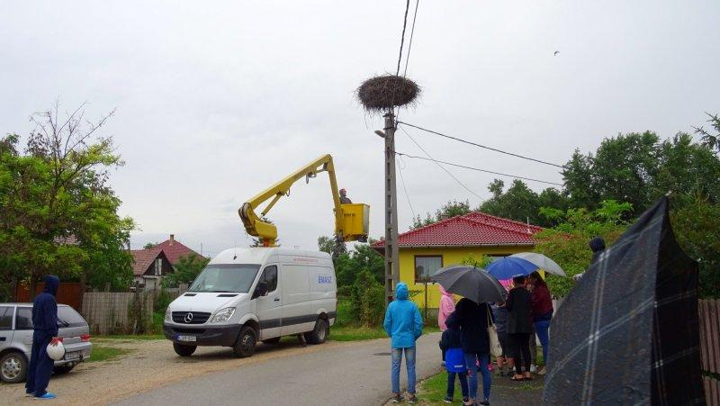 Segédeszköz az ÉMÁSZ-tól (Fotó: Juhász Csaba)
