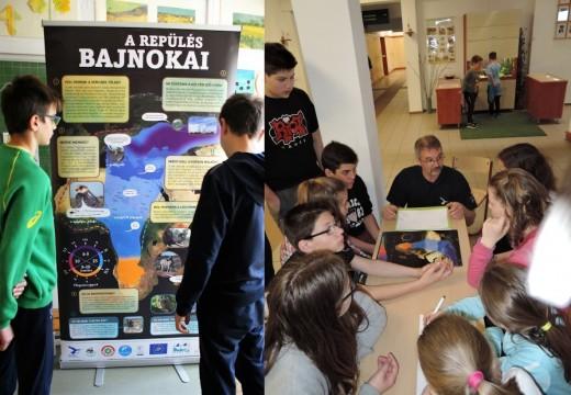A projekt vándorkiállításának molinói közül emlékezetből idézték fel a történéseket a versenyző csapatok a vaktérképen