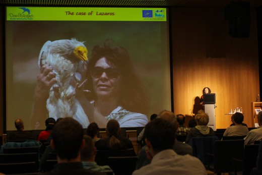 A konferencia egyik előadása (Fotó: Horváth Márton).