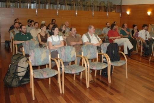 Emlősvédelmi Szakosztály alakuló ülés (fotó: Horváth Márton)