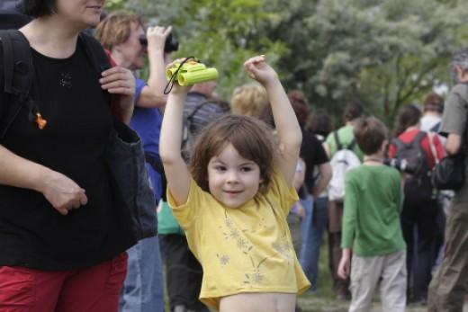 """Tagjaink számos """"madaras"""" családi programon vehetnek részt egész évben (Fotó: Orbán Zoltán)."""