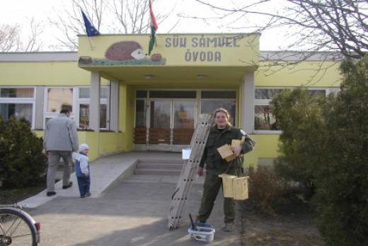 Madárbarát óvoda (Fotó: Orbán Zoltán).