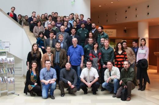 A konferencia résztvevői (Fotó: Bajomi Bálint)