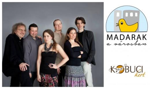 A Makám együttes a Kobuciban