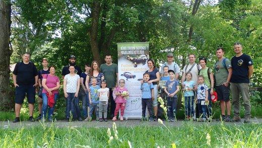 Börzsönyi szalamandra-túránk résztvevői