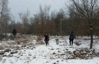 A terület téli arcát mutatta (Fotó: Lendvai Csaba)