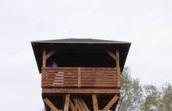 Az új megfigyelő torony (Fotó: Bajor Zoltán)