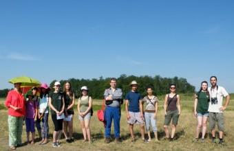 Ürgefelmérő madarász csapat (Fotó: Koczka András)