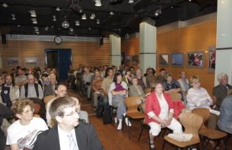 Az MME küldöttközgyűlése 2010-ben a Fővárosi Állat- és Növénykert Barlangtermében (Fotó: Orbán Zoltán).