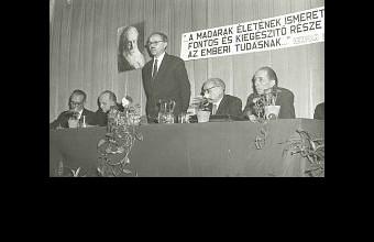 Az alakuló ülés 1974. január 6-án (Fotó: Kapocsy György).