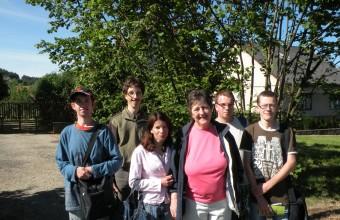 A jászsági sikercsapat és mentortanáruk, Kati néni (Fotó: Horváth Ákos).