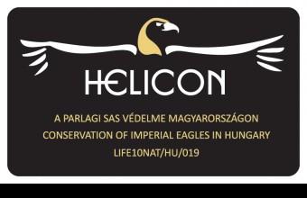 A HELICON parlagisas-védelmi LIFE+ projekt logója