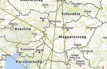 """2015-ös megjelölése óta """"Larry"""" mindhárom őszi vonulása Angliából Közép-Afrikába Magyarországon keresztül vezetett (forrás: www.bto.org)."""