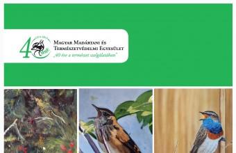 Madárfestmények a Természettudományi Múzeumban.