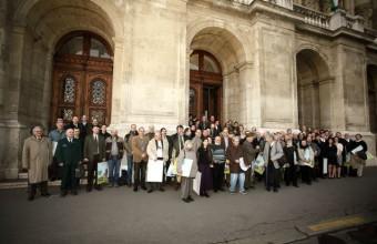 Csoportkép a rendezvény résztvevőiről (Fotó: Orbán Zoltán)