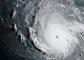 Az Irma nevű hurrikán képe egy műholdról (Fotó: NOAA)